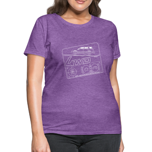 Toyota Tercel 4WD Wagon Clinometer (Double) - Women's T-Shirt