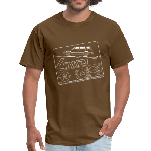 Toyota Tercel 4WD Wagon Clinometer (Double) - Men's T-Shirt