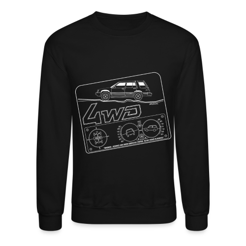 Toyota Tercel 4WD Wagon Clinometer (Double) - Crewneck Sweatshirt