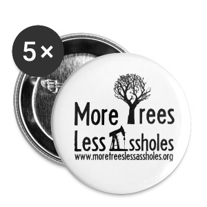MTLA.org Black - Small Buttons