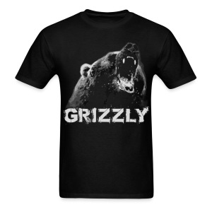 Grizzly Bear T-shirt - Men's T-Shirt