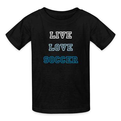 LGH Live Love Soccer - Kids' T-Shirt