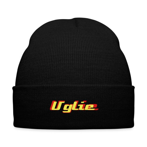 Uglie Motion Logo Beanie - Knit Cap with Cuff Print