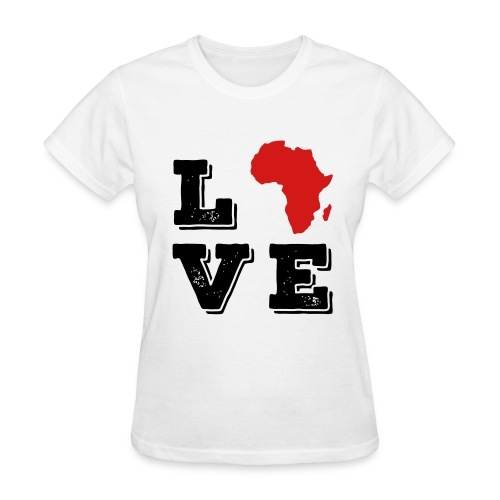 Love Africa - Women's T-Shirt