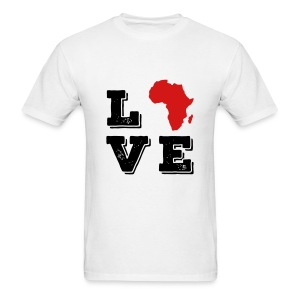 Love Africa - Men's T-Shirt