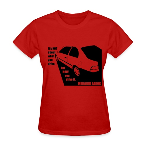 Mekanik Addik's Ride Women - Women's T-Shirt