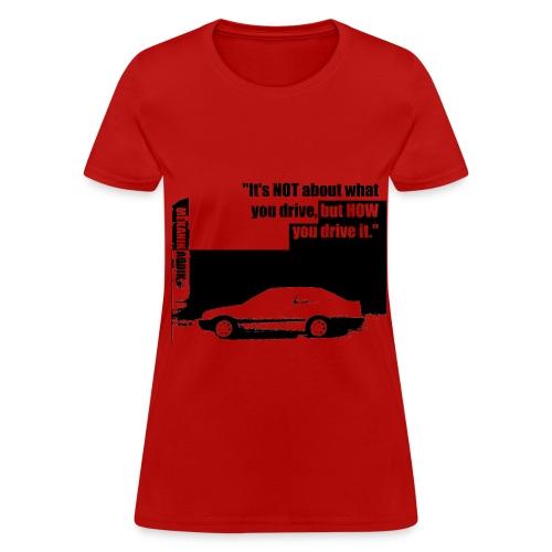 Mekanik Addik's Silouhette Women - Women's T-Shirt