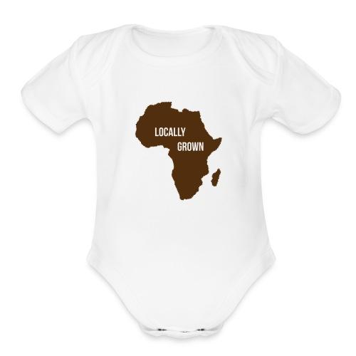 Locally Grown - Organic Short Sleeve Baby Bodysuit