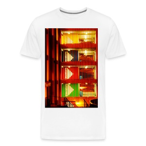 Downtown Garage (white) - Men's Premium T-Shirt