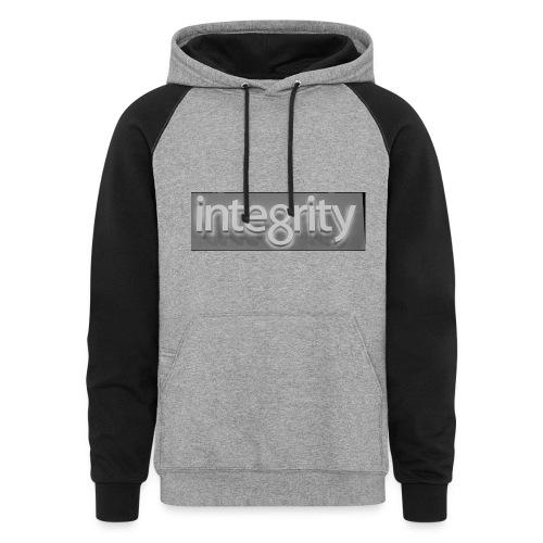 Integrity Women's Hoodie - Colorblock Hoodie