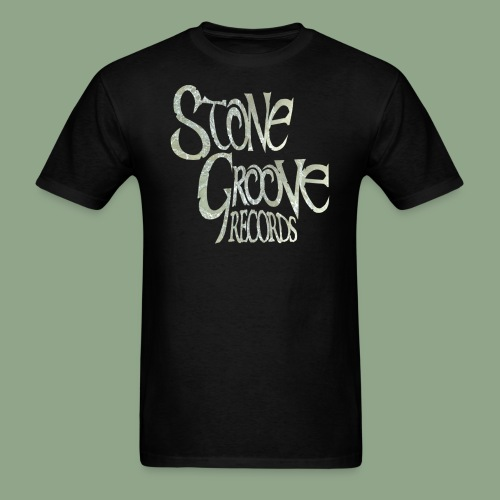 Stone Groove Records - Pinch Marble Logo T-Shirt (men's) - Men's T-Shirt