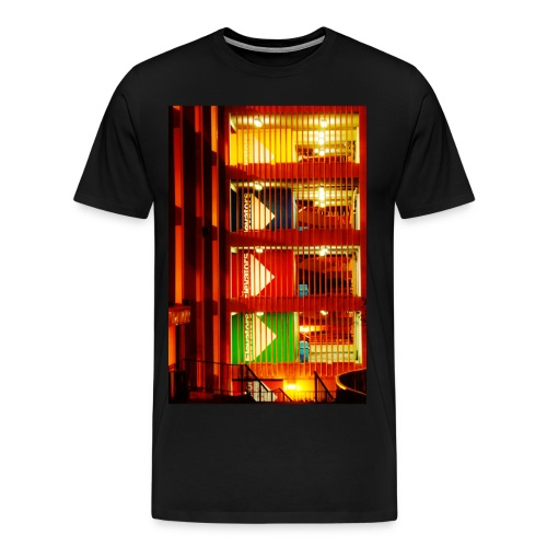 Downtown Garage (black) - Men's Premium T-Shirt