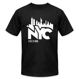 NYC 1 - Men's T-Shirt by American Apparel