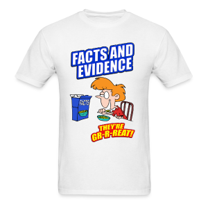 Facts and Evidence men's products - Men's T-Shirt