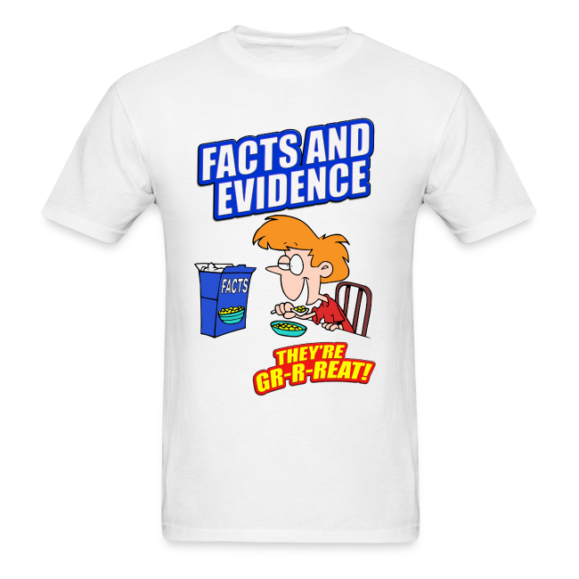 Facts and Evidence men's products