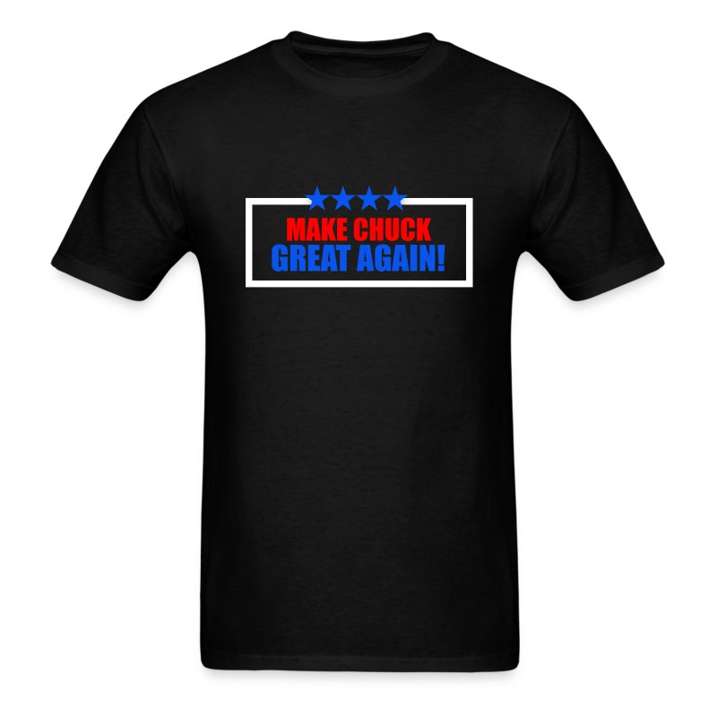 CHUCkm.png - Men's T-Shirt
