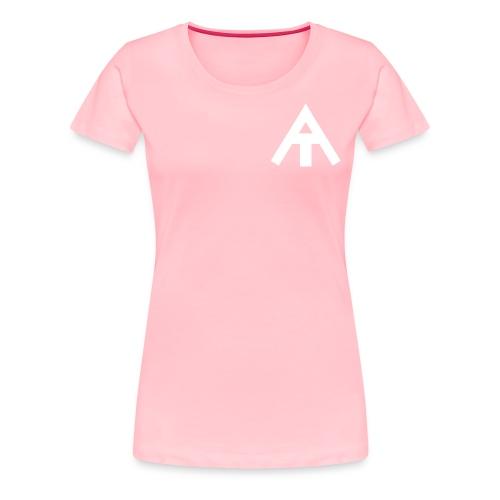 basic pink & white ae t-shirt - Women's Premium T-Shirt