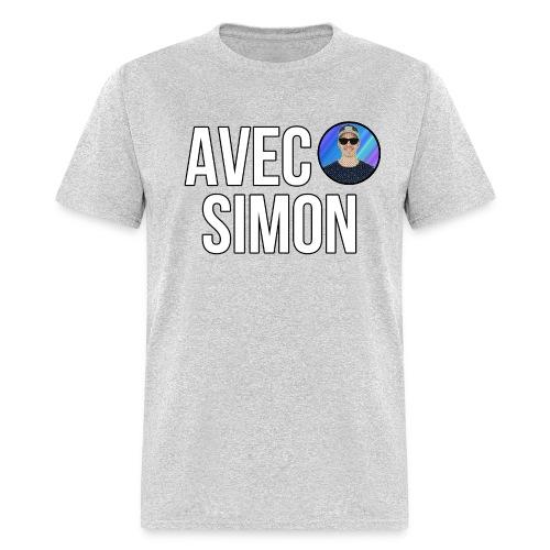 AvecSimon Mini Logo - Men's T-Shirt