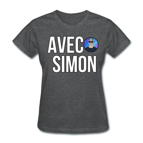 AvecSimon Mini Logo Femme - T-shirt pour femmes