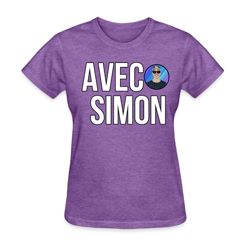 AvecSimon Mini Logo Femme - Women's T-Shirt