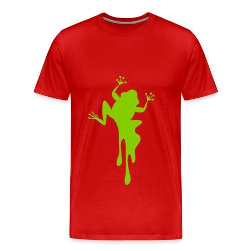 frog splat - Men's Premium T-Shirt