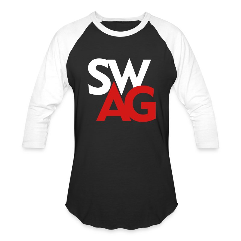 Swag tshirt design men s baseball t shirt spreadshirt Designer baseball shirts