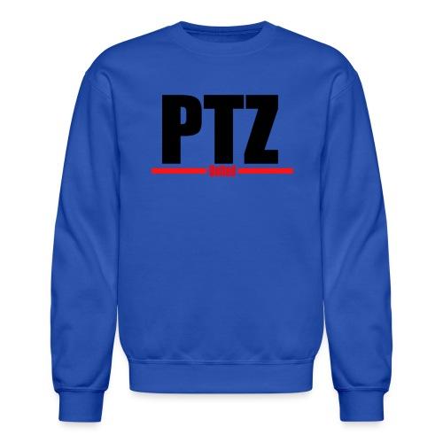 PTZ Red Logo Sweatshirt - Crewneck Sweatshirt