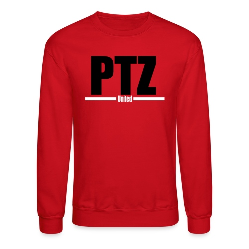 PTZ White Logo Sweatshirt - Crewneck Sweatshirt