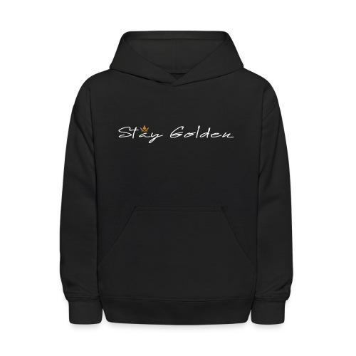 Kids' Hoodie | STAY GOLDEN - Kids' Hoodie