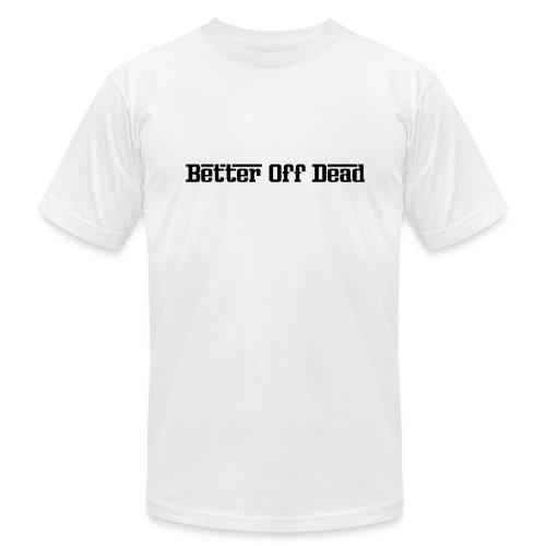 Better Off Dead Angel Tee - Men's Fine Jersey T-Shirt