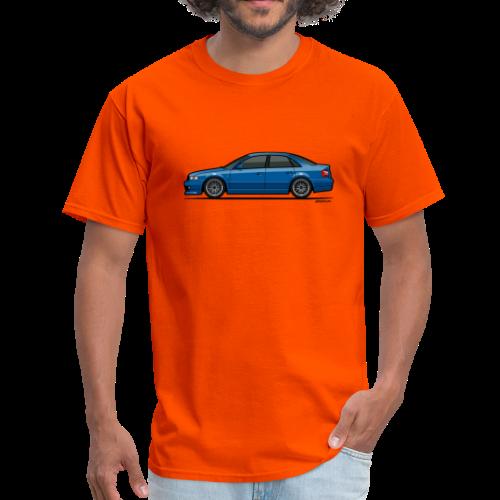 Audi A4 Quattro B5 Sedan (Nogaro Blue) - Men's T-Shirt
