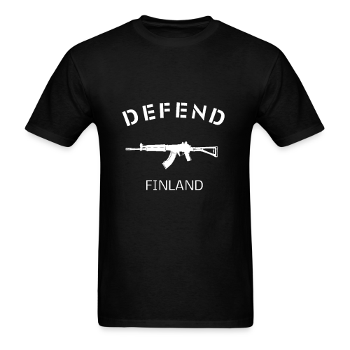 Defend Finland - Men's T-Shirt