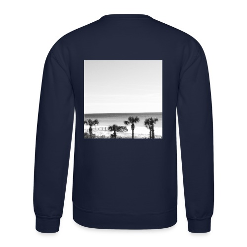 Palm Tree Graphic Crewneck  - Crewneck Sweatshirt