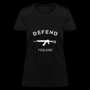 Defend Finland -Women - Women's T-Shirt