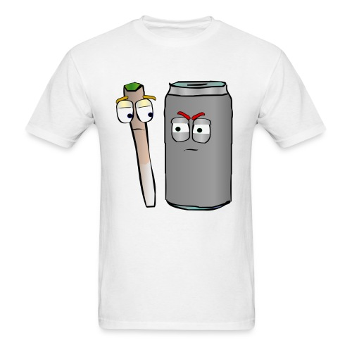 Doobie and Beer - Men's T-Shirt