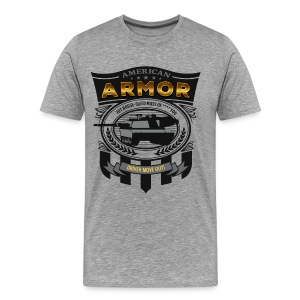 American Armor: Driver Move Out! - Men's Premium T-Shirt