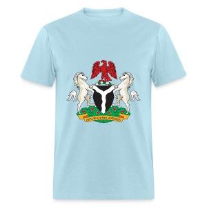Nigeria Coat of Arms - Men's T-Shirt