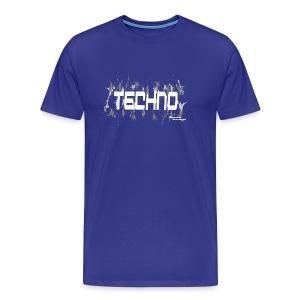 Techno fashion mens T-shirt - Men's Premium T-Shirt