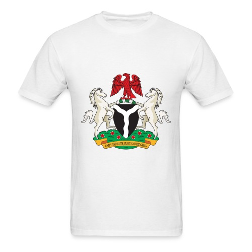 Nigeria Coat of Arms - Men's T-Shirt