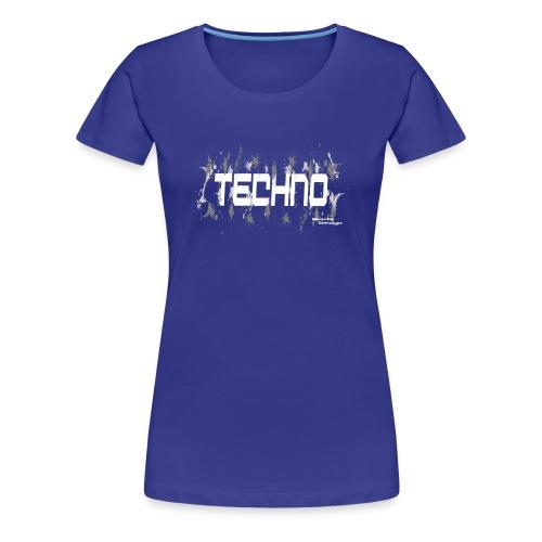 Techno fashion women t-shirt - Women's Premium T-Shirt