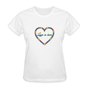 Love is love Women's T - Women's T-Shirt