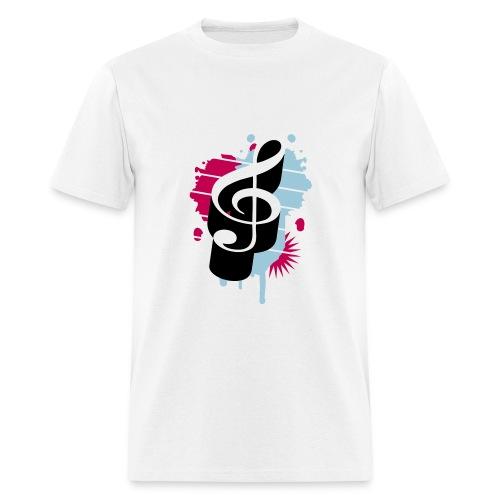 Treble Clef (Mens) - Men's T-Shirt