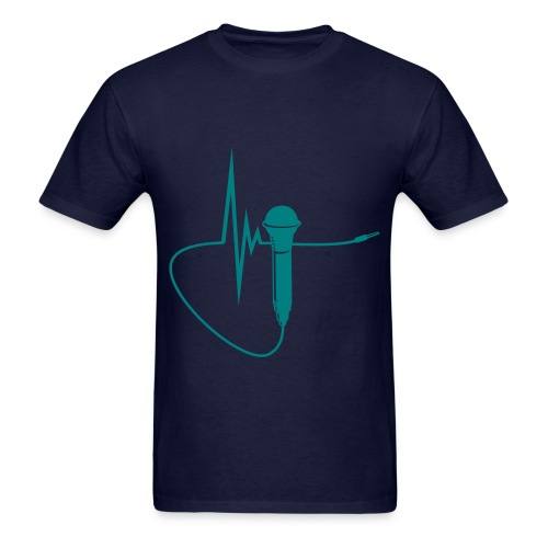 Mens Mic Test  (Mens) - Men's T-Shirt