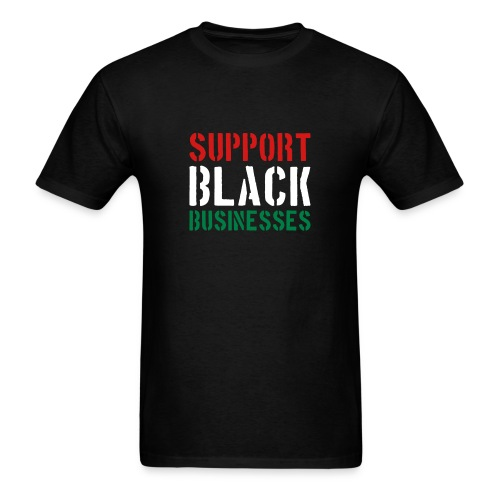 Black Owned Businesses - Men's T-Shirt