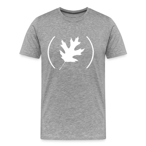Men's (the autumn) Leaf Logo T-Shirt - Men's Premium T-Shirt