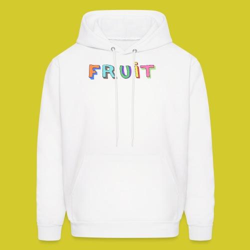 FRUIT Hoodie (White) - Men's Hoodie