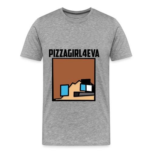 pizzagirl4eva Men's T-Shirt - Men's Premium T-Shirt