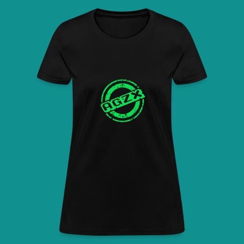 Women Black/Green - Women's T-Shirt