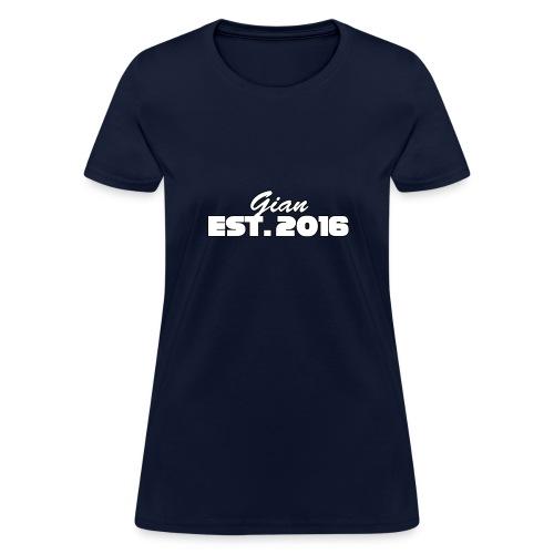 Short Sleeved T-Shirt with Est. Year - Women's T-Shirt