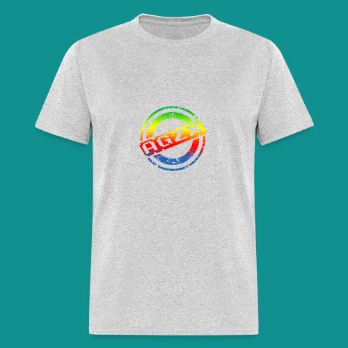 Men Heather Grey/Rainbow - Men's T-Shirt